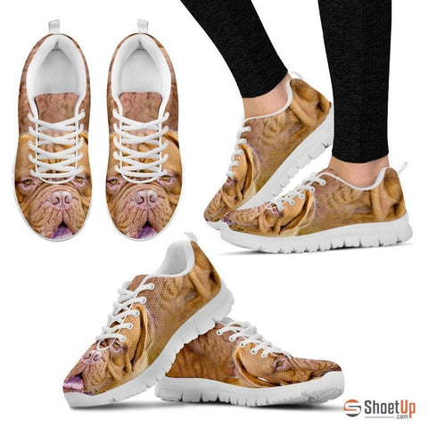 Mastiff Dog-Running Shoes For Women-Free Shipping