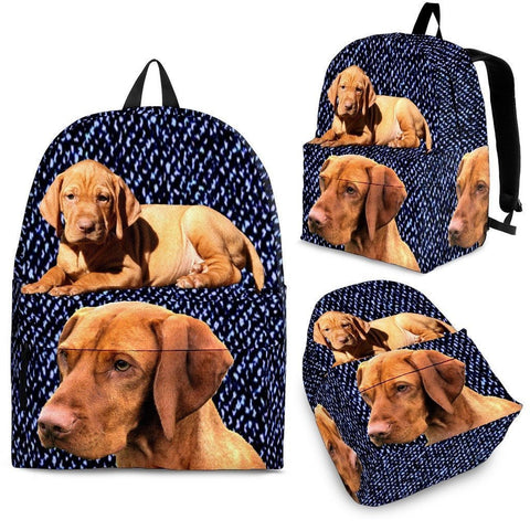 Vizsla Dog Print BackPack - Express Shipping