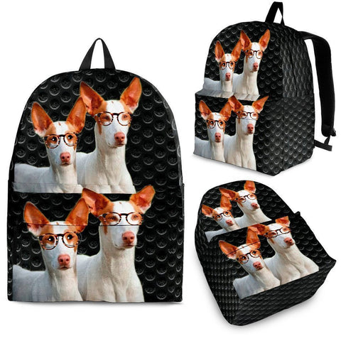 Ibizan Hound Dog Print Backpack-Express Shipping