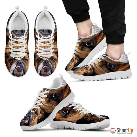 Bulldog-Running Shoes For Men -Free Shipping
