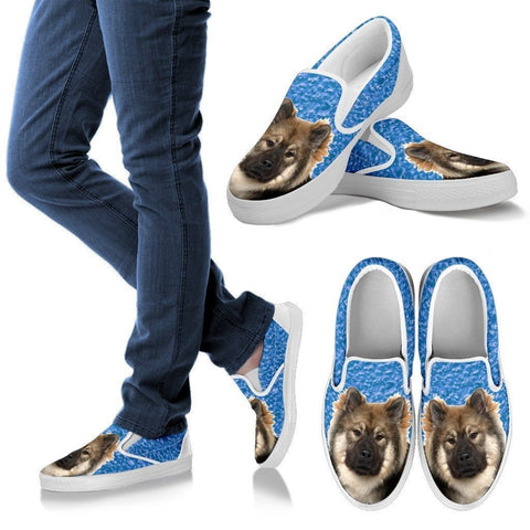 Eurasier Dog Print Slip Ons For Women-Express Shipping