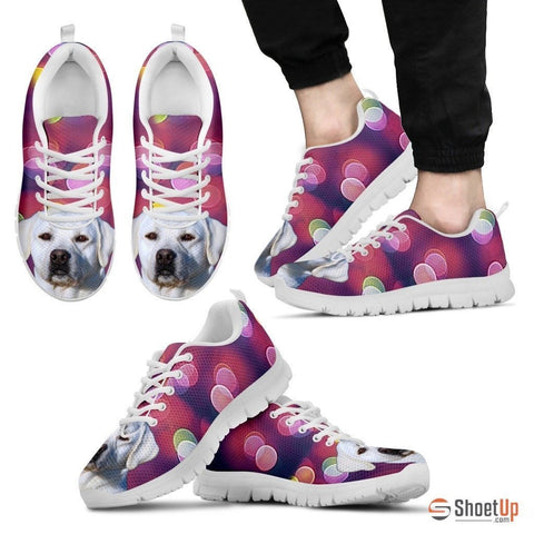 Labrador Retriever Dog Running Shoes For Men-3D Print-Free Shipping