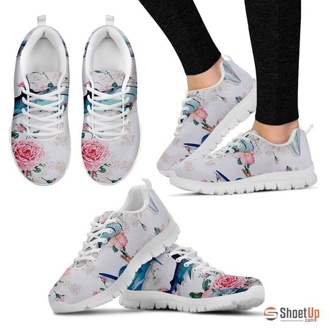Flores Shark Running Shoes(Men/Women)-3D Print-Free Shipping