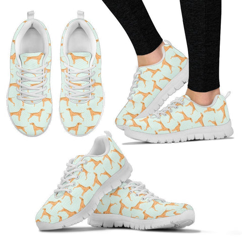 Vizsla Dog Pattern Print Sneakers For Women- Express Shipping