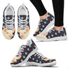 Danish Landrace Pig2 Print Christmas Running Shoes For Women-Free Shipping