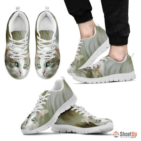 Ragamuffin Cat Print Running Shoes For Men-Free Shipping