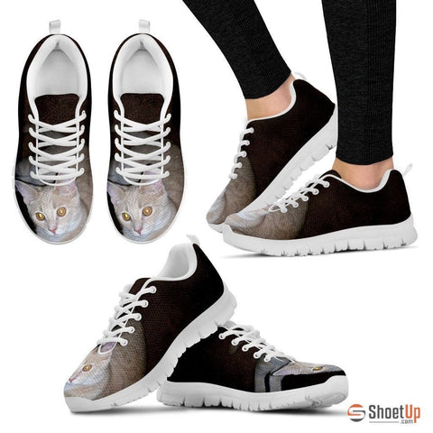 Sherry L Sabatino/Cat-Running Shoes For Women-3D Print-Free Shipping