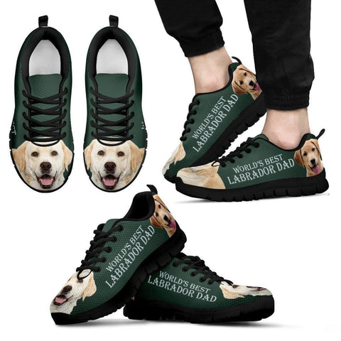 'World's Best Labrador Dad' Running Shoes-Father's Day Special
