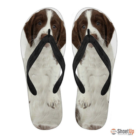 English Springer Spaniel Flip Flops For Men-Free Shipping Limited Edition