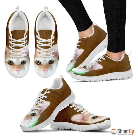 Annie Anderson/Cat-Running Shoes For Women-3D Print-Free Shipping