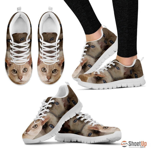 Tonkinese Cat Print Running Shoes For Women-Free Shipping