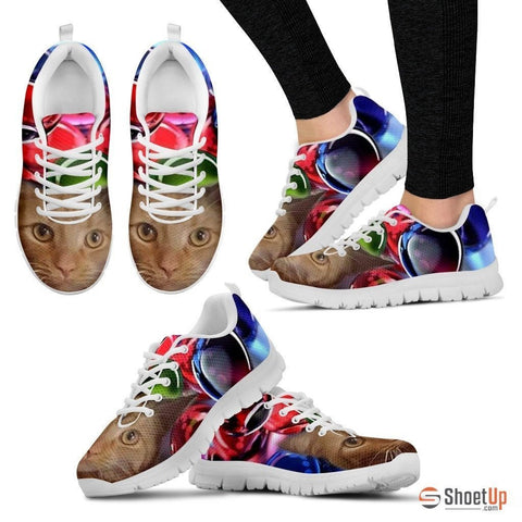 Amber Schneider/Cat-Running Shoes For Women-3D Print-Free Shipping
