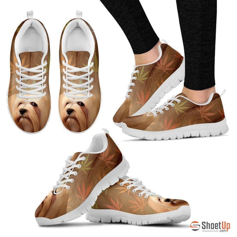 Lhasa Apso Dog Running Shoes For Women-Free Shipping