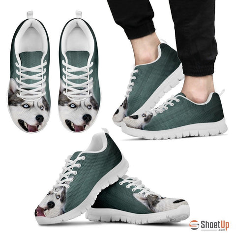 Amazing Siberian Husky-Dog Shoes For Men-Free Shipping