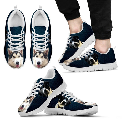 Paul Brown Customized Sneakers For Men (White)- Free Shipping