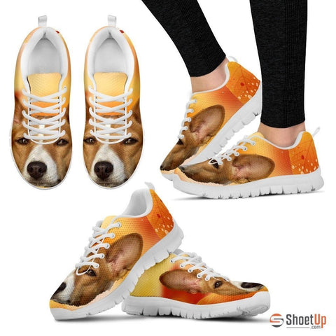 Basenji Dog Print Running Shoe For Women-Free Shipping