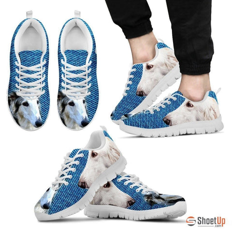 Borzoi-Dog Running Shoes For Men-Free Shipping Limited Edition