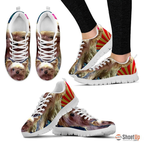 Diane Randall/ Dog Print Running Shoe For Women- Free Shipping