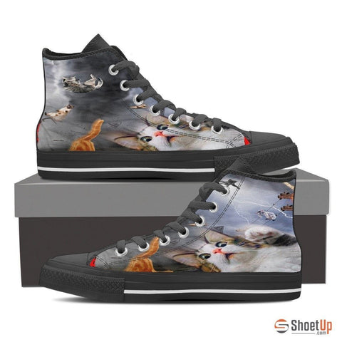 High Top Canvas Shoes For Women - Free Shipping