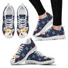 Pembroke Welsh Corgi Christmas Print Running Shoes For Women-Free Shipping