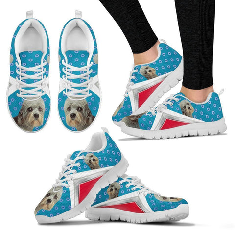 Dandie Dinmont Terrier Print Running Shoes For Women-Free Shipping