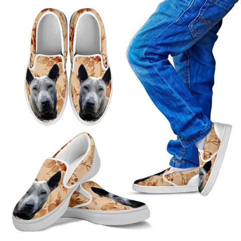 Thai Ridgeback Dog Print Slip Ons For Kids-Express Shipping