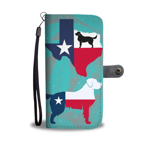 Amazing Golden Retriever Dog From TX Print Wallet Case-Free Shipping-TX State