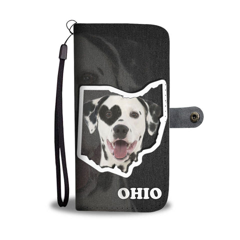 Dalmatian dog Print Wallet Case-Free Shipping-OH State