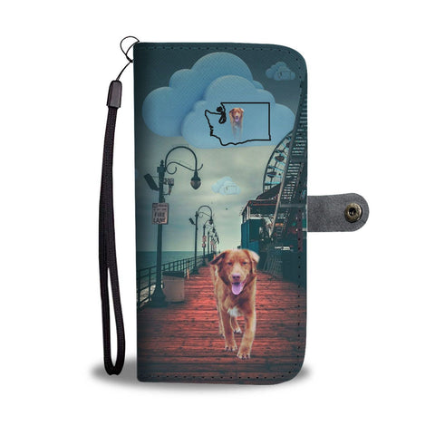 Nova Scotia Duck Tolling Retriever Print Wallet Case-Free Shipping-WA State