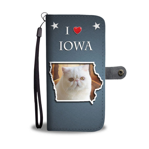 Exotic Shorthair Cat Print Wallet-Free Shipping-IA State