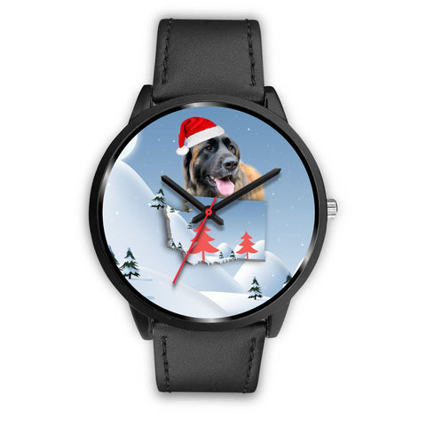 Leonberger Dog Washington Christmas Special Wrist Watch-Free Shipping