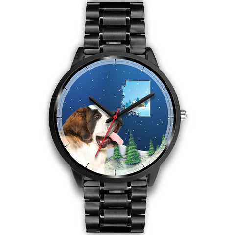 St. Bernard Arizona Christmas Special Wrist Watch-Free Shipping