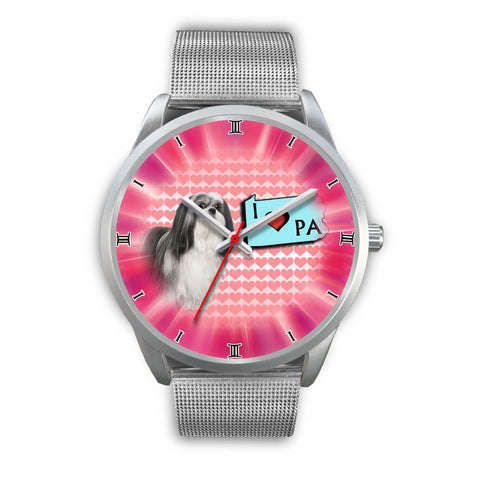 Lhasa Apso Dog Pennsylvania Christmas Special Wrist Watch-Free Shipping
