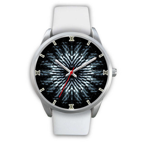 Amazing Blackish Stone Printed Wrist Watch-Free Shipping