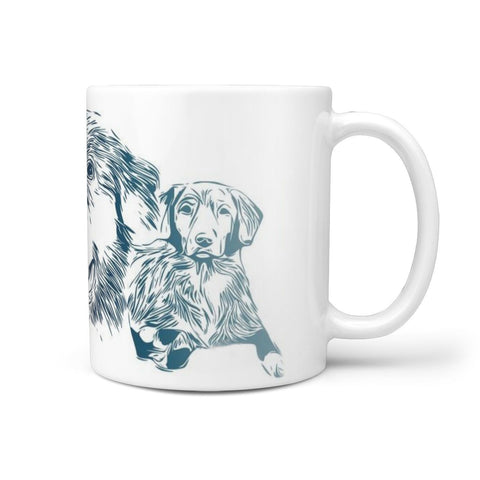 Nova Scotia Duck Tolling Retriever Print 360 White Mug