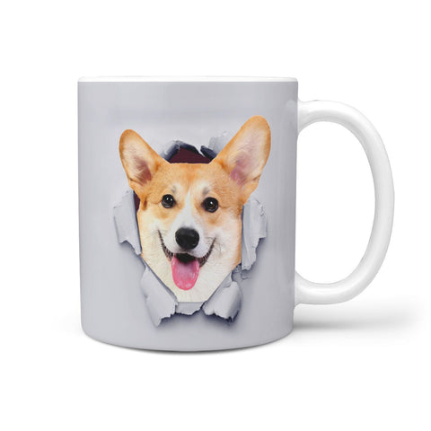 Lovely Pembroke Welsh Corgi Print 360 Mug