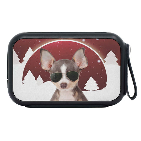 Chihuahua Dog Print Bluetooth Speaker