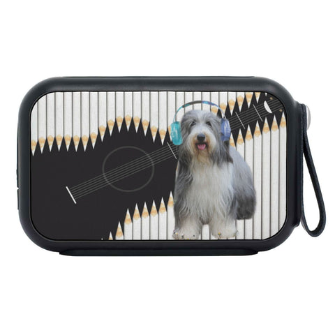 Bearded Collie Print Bluetooth Speaker