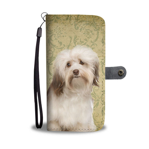 Havanese Dog Print Wallet Case- Free Shipping