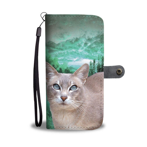 Lovely Tokinese Cat Print Wallet Case- Free Shipping