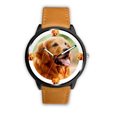 Golden Retriever Dog Print Wrist watch - Free Shipping