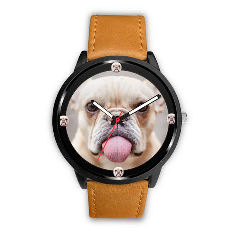Cute French BullDog Print Wrist watch - Free Shipping