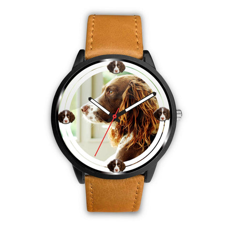 English Springer Spaniel Dog Print Wrist watch - Free Shipping
