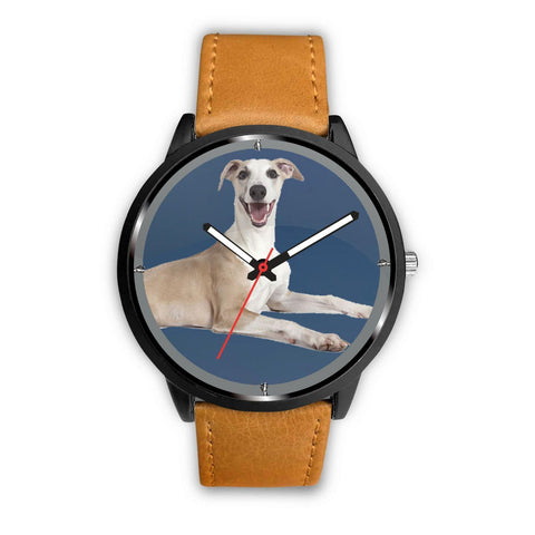 Lovely Whippet Dog Print Wrist watch - Free Shipping