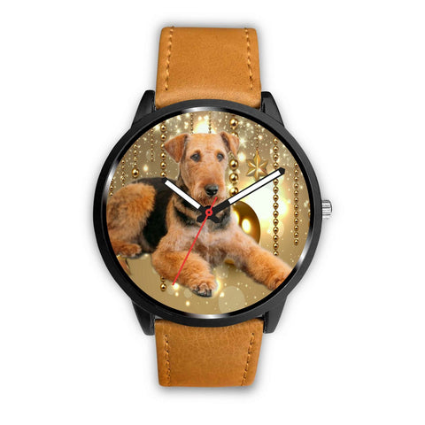 Airedale Terrier Dog Print Wrist Watch - Free Shipping