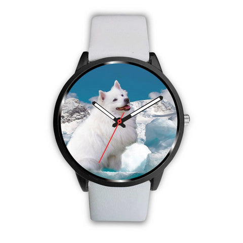 American Eskimo Dog Print Wrist Watch - Free Shipping