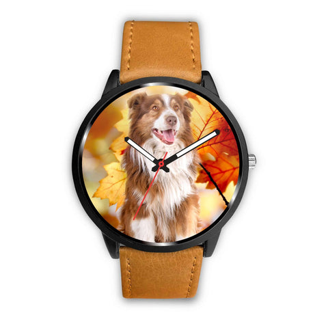 Cute Australian Shepherd Print Wrist Watch - Free Shipping