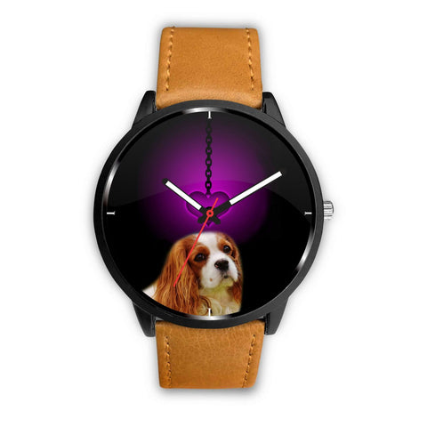 Cute Cavalier King Charles Spaniel Print Wrist Watch-Free Shipping