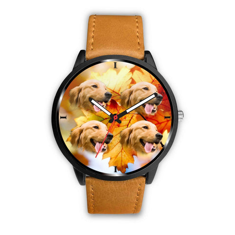 Lovely Golden Retriever Print Wrist Watch- Free Shipping