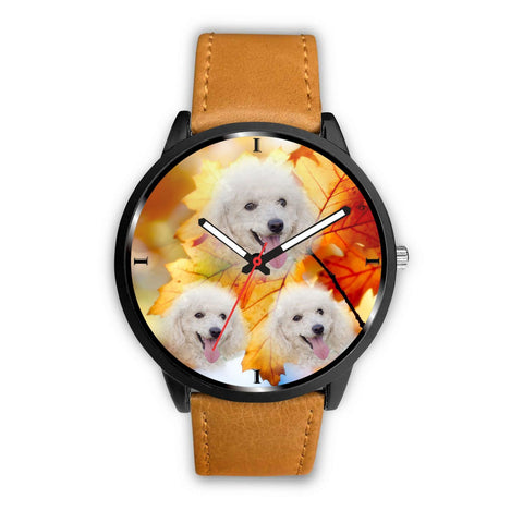 Cute Poodle Dog Print Wrist Watch- Free Shipping